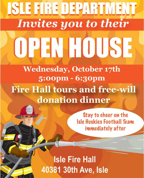 Fire Department – OPEN HOUSE