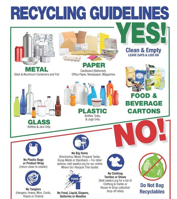 Recycling – 24 Hour Availability